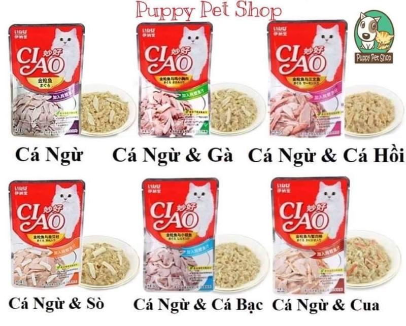 Pate Ciao dành riêng cho mèo 70g