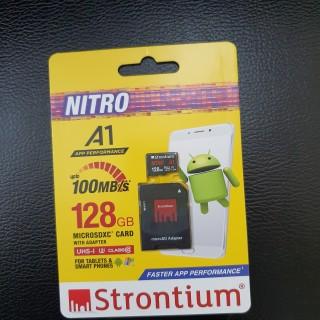 Thẻ nhớ Stronitium Nitro A1 128GB chuyên dụng cho camera giám sát Hàng chính hãng thumbnail