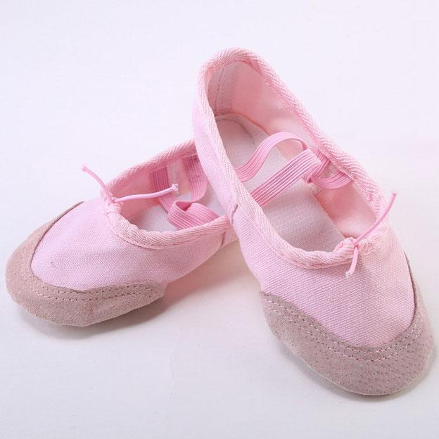 Voucher Ưu Đãi [HOT SALE] Giày Múa Bale, Giày Ballet Chất Liệu Vải Kaki Bọc Da Lộn Cực Bền Và êm ái