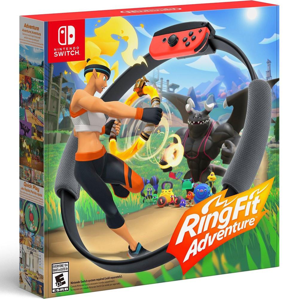 [TRẢ GÓP 0%] Máy Nintendo Switch V2 + Bộ game Ring fit Adventure - Bảo hành 12 tháng & Tặng dán cường lực