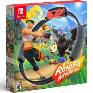 [TRẢ GÓP 0%] Máy Nintendo Switch V2 + Bộ game Ring fit Adventure - Bảo hành 12 tháng & Tặng dán cường lực thumbnail