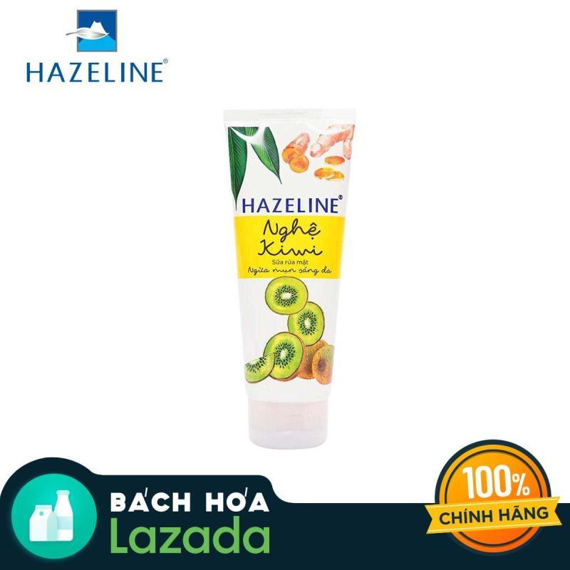 Sữa Rửa Mặt Hazeline Nghệ Và Kiwi 100G nhập khẩu