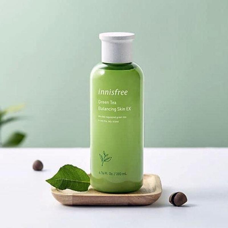 Nước Hoa Hồng Innisfree Green Tea Balancing Skin EX cao cấp