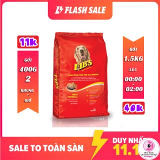 Thức ăn cho chó trưởng thành FIBS 400g và 1.5kg - Vị Thịt Bò thumbnail