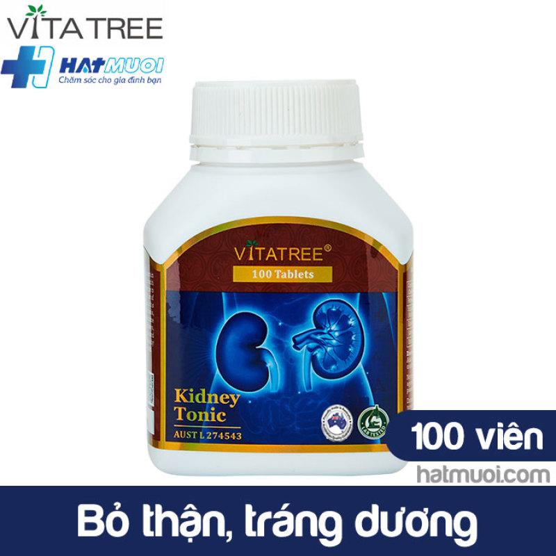 Vitatree Kidney Tonic – Viên bổ thận Úc, tăng cường chức năng thận, giảm nguy cơ gây suy thận mạn cao cấp