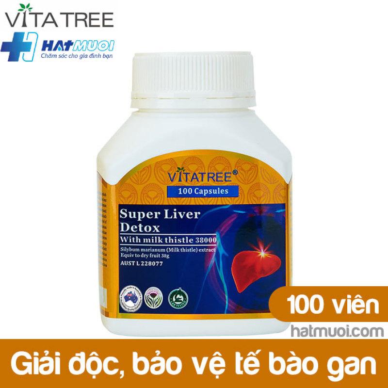 Vitatree Super Liver Detox – Tăng cường chức năng gan, giải độc, bảo vệ tế bào gan Úc cao cấp