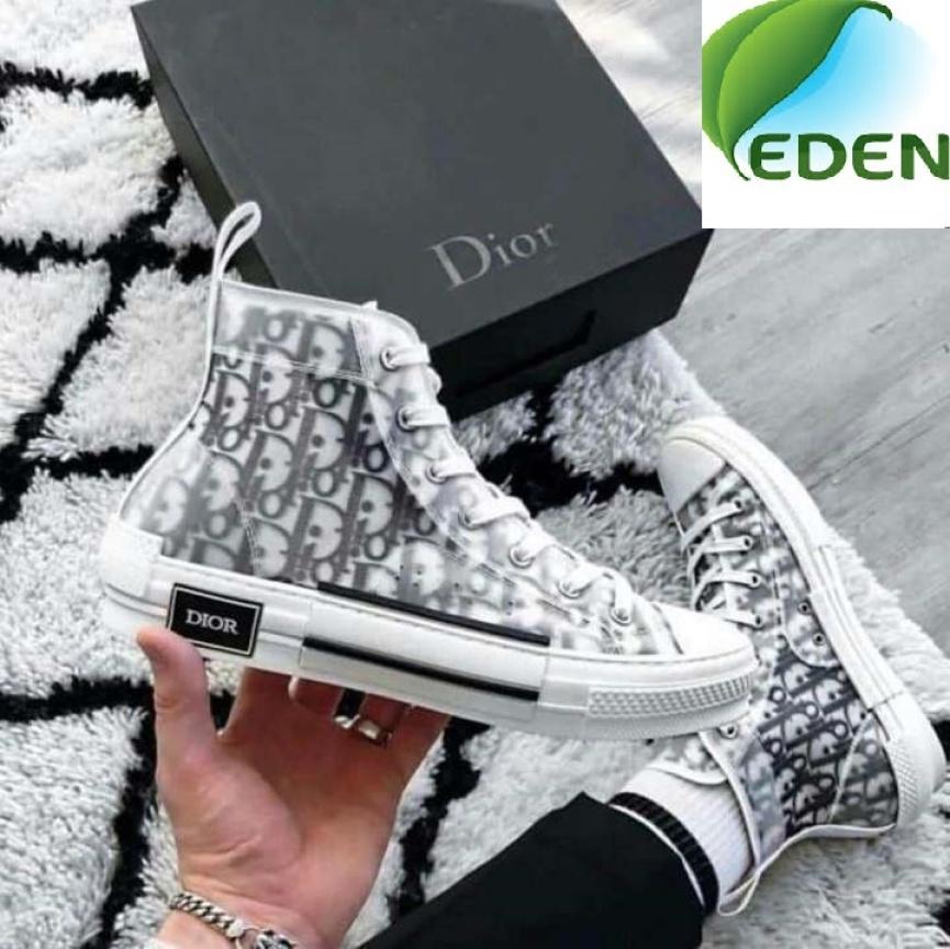 [EDEN68] Giày Sneaker Dior cổ cao Full Box thời trang hàng hiệu mẫu 2020 giá rẻ