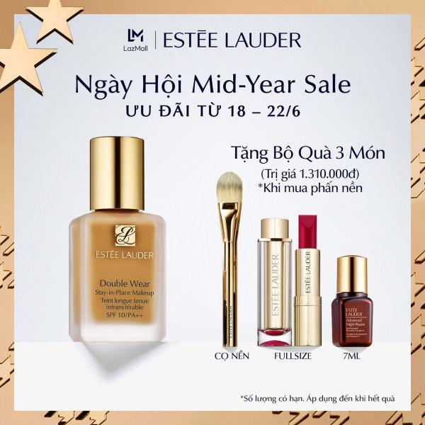 [ƯU ĐÃI MID-YEAR SALE] Kem nền lâu trôi Estee Lauder Double Wear Stay-in-Place Makeup SPF 10/PA++ 30ml - Tặng Set quà 3 món trị giá 1.310.000đ giá rẻ