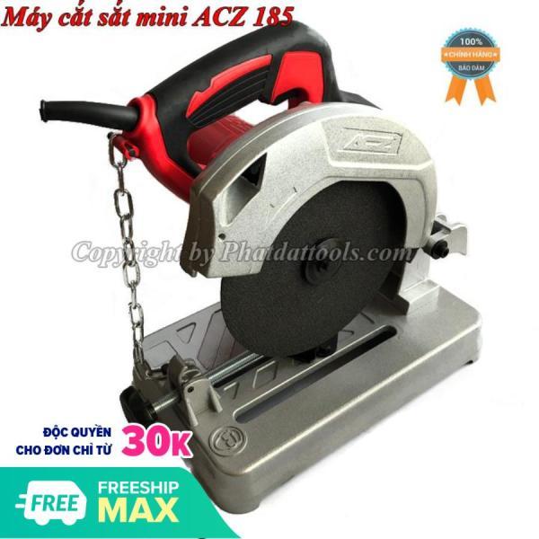 Máy cắt sắt bàn mini ACZ 9185 cao cấp-Công suất 1200W-Bảo hành 6 tháng-Kèm sẵn đá cắt D185