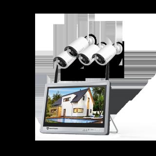Hệ thống Camera an ninh HM243, 1080P + Màn hình LCD 12inch thumbnail
