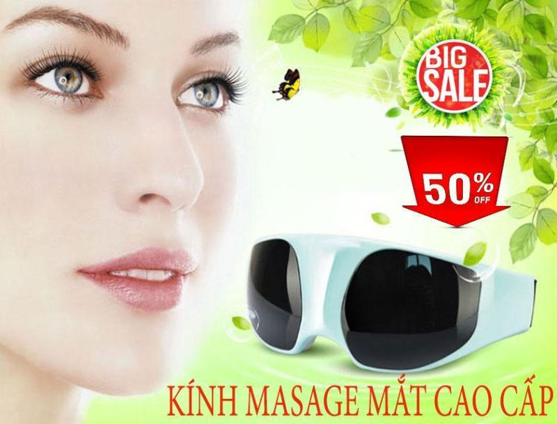 Kính mắt cao cấp, Cận thị, máy massage, máy massage thư giãn, kính massage mắt, tăng chất lượng giấc ngủ và tuần hoàn máu quanh mắt, hạn chế lão hóa, bảo hành 1 đổi 1, sale 50% 4