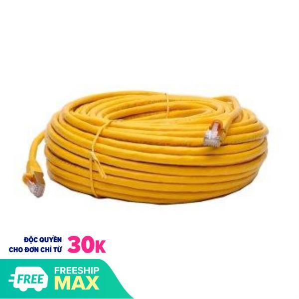 Bảng giá Cáp mạng internet/mạng LAN Cat 6E 40m 2 đầu bấm sẵn Dây Mạng Lan 1 MÉT Đúc Sẵn 2 Đầu Hạt Mạng Phong Vũ