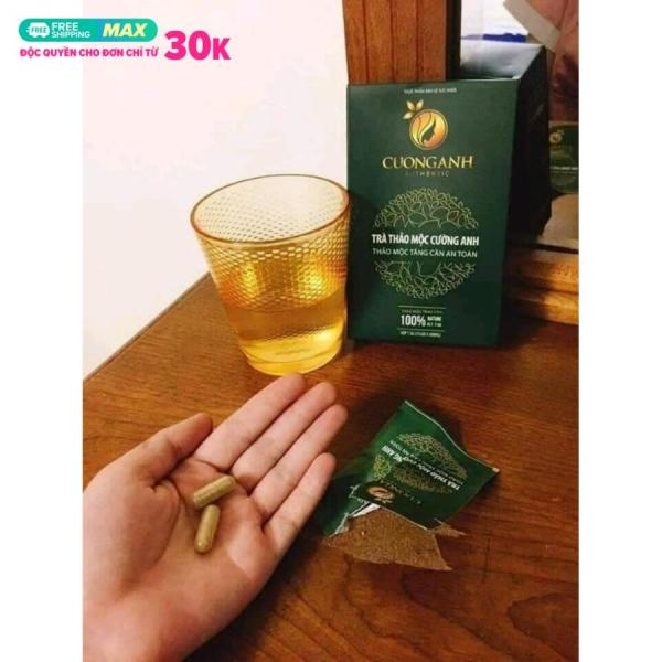 Viên Uống Thảo Dược Tăng Cân Cường Anh - Hộp 30 viên - Kèm Thẻ Bảo Hành nhập khẩu