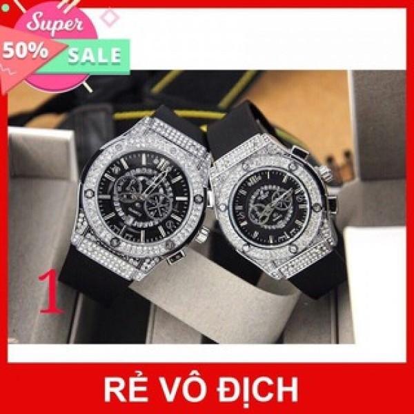 Nơi bán [Hublot đôi - nam nữ] Đồng hồ Hublot nam nữ - đồng hồ cặp đôi hàng đẹp - bảo hành 12th