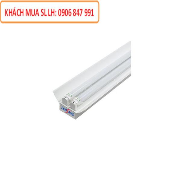 Máng đèn LED - Máng chóa đèn đôi T8 1m2  LS - C2 - 120