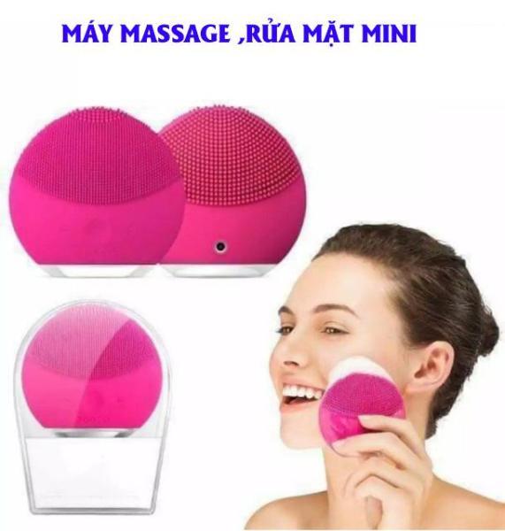 Máy rửa mặt dùng cho spa,Máy Massage Mặt,Máy Rửa Mặt Trị Mụn, Làm Sạch Sâu Kiêm Massage 3 In 1 Mang Lại Làn Da Trắng, Đẹp, Mịn Màng,Đem Lại Sự Tự Tin Cho Phái Đẹp