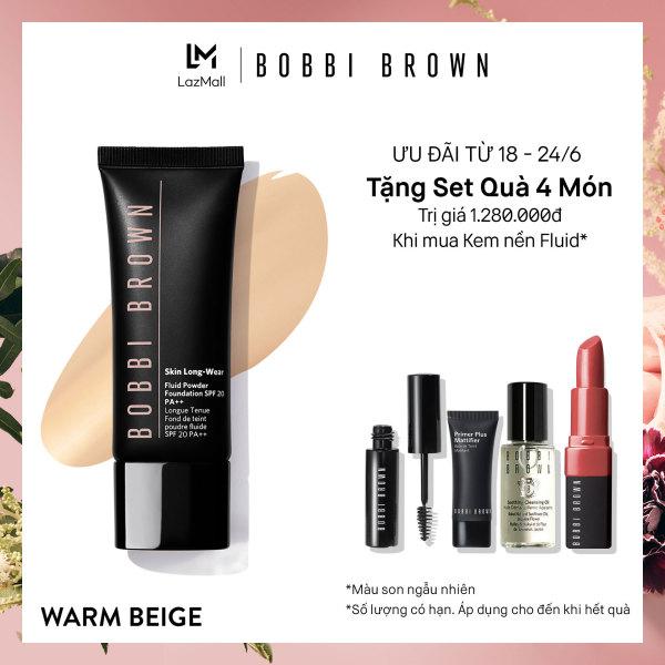 Kem nền linh hoạt Phấn - Nước Bobbi Brown Skin Long-Wear Fluid Powder Foundation SPF 20 40ml tốt nhất