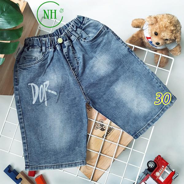 Nơi bán Quần short jean bé size từ 30kg- 48kg, quần jean CO GIÃN TỐT - NH Shop