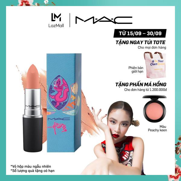 Son môi MAC Powder Kiss Lipstick 3g