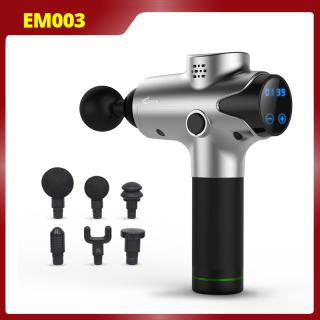 Súng Massage cầm tay Cát Á EM003 - 20 mức độ rung 20 đầu trị liệu bảo hành chính hãng 1 năm thumbnail
