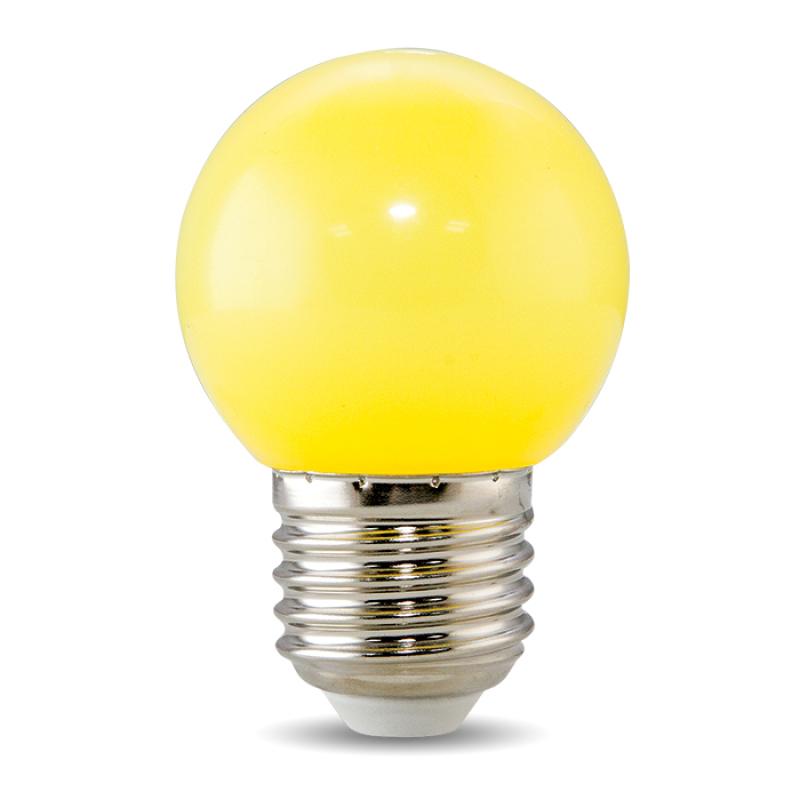 Bóng Đèn LED Bulb Trang Trí Tròn Màu 1W Rạng Đông - LED A45 1W