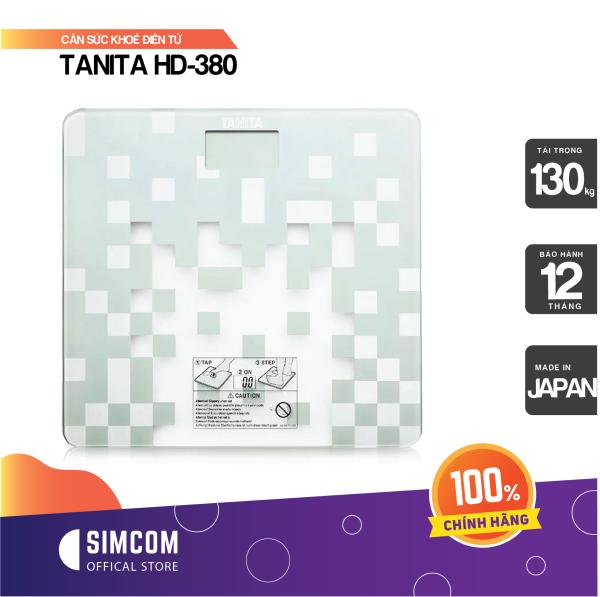 Cân sức khỏe điện tử TANITA HD-380 cao cấp
