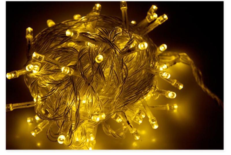 Bộ 5 Dây đèn led nháy kim 1 màu 2 chế độ - dài 5m KamiHome