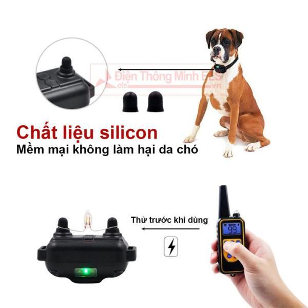 Vòng cổ huấn luyện chó L880 khoảng cách 800m tích hợp đèn pin