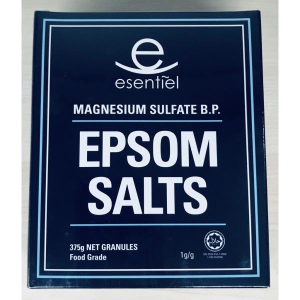 Tẩy tế bào chết, giảm mụn lưng, giảm đau xương khớp, muối Epsom Salt hộp 375g, nhập khẩu Malaysia