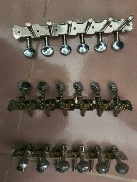 Khóa đàn Inox dành cho đàn thùng ghita phím lõm - Phùng Thanh Vũ