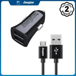Sạc Energizer UL dùng cho Ô tô Micro USB 3.4A 2 cổng màu đen - DCA2CUMC3 thumbnail