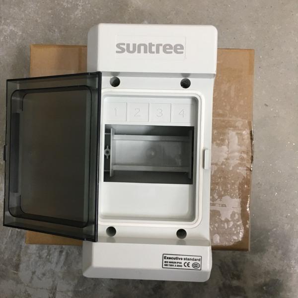 Tủ điện Chống Nước Suntree Ip65 SHA-4P - Tủ Phân Phối Điện 4WAY - 4 CB Đơn - SHA-4P
