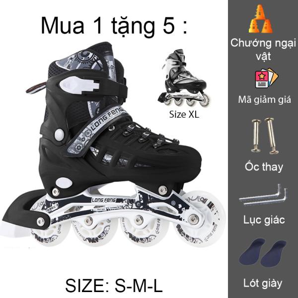 Phân phối Giày trượt patin longfeng 905 có thể điều chỉnh size giành cho trẻ em và người lớn