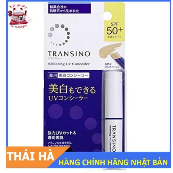Kem Che Khuyết Điểm Transino Whitening UV SPF50 + PA ++++ Nhật Bản giá rẻ