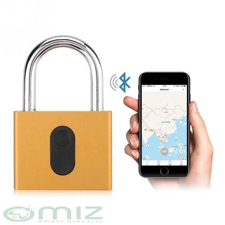 Ổ Khóa Cửa Mở Bằng Bluetooth - GS40