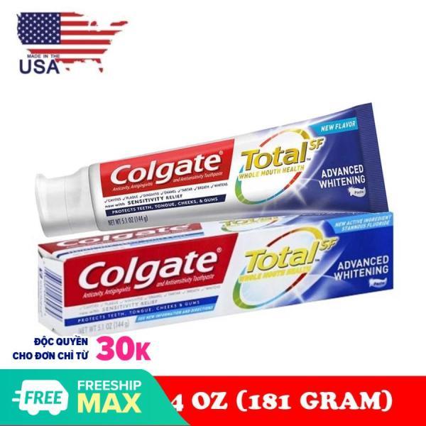 Kem Đánh Răng Colgate Total Advanced Whitening 181g - Mỹ giá rẻ
