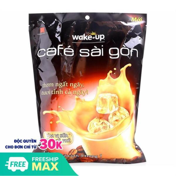 Bịch Cà phê Wake Up Sài Gòn - Cà Phê Sữa Hòa Tan 24 gói X 19gr