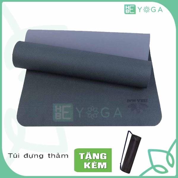 Bảng giá Thảm Tập Yoga Zera Mat 8mm 2 Lớp Tặng Kèm Túi Cao Cấp