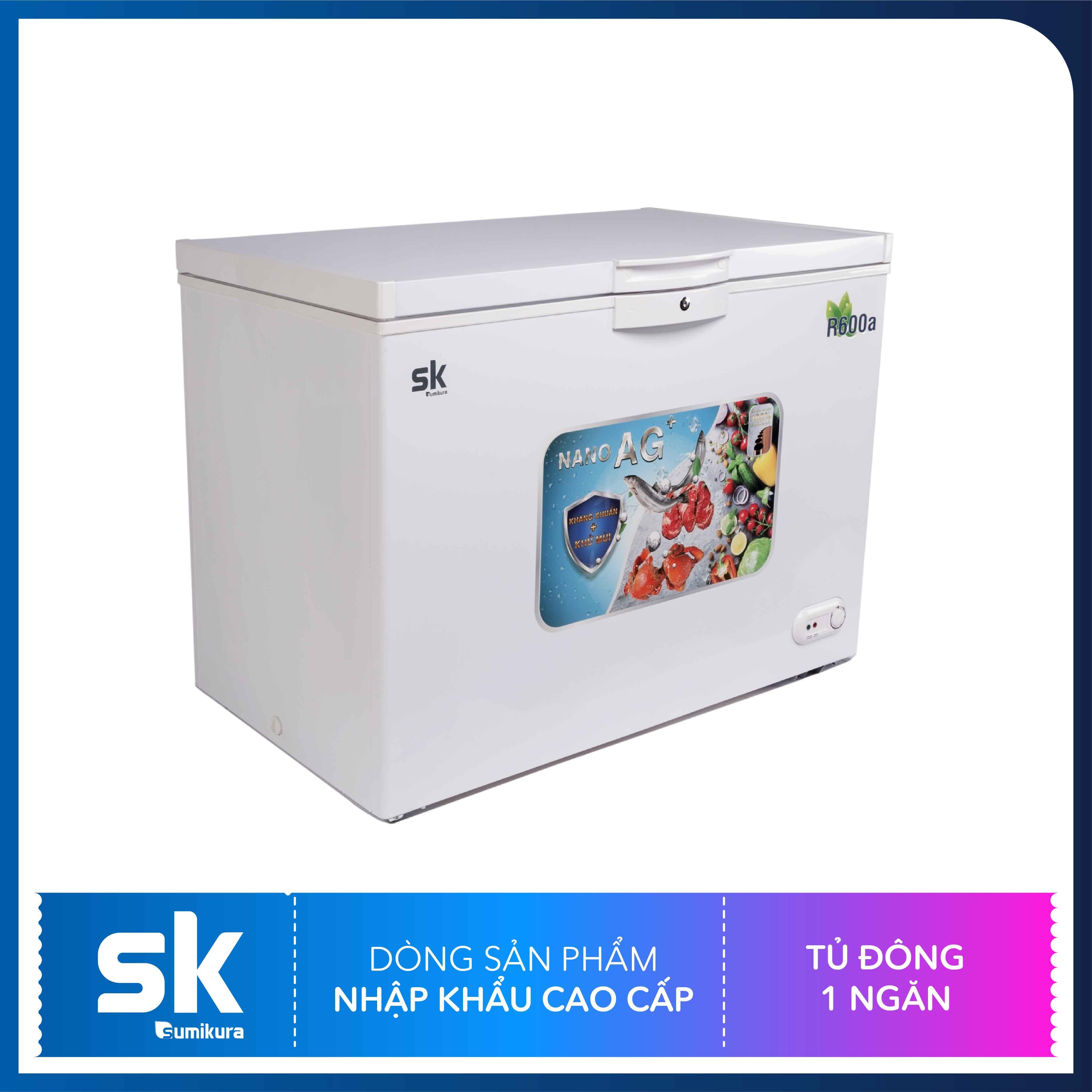 Tủ đông 1 ngăn 116 Lít Sumikura SKFCS-116
