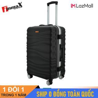 [ MIỄN PHÍ SHIP] Vali du lịch viền nhôm nắp gập immaX A17 hàng chính hãng size 20inch và size 24inch thumbnail