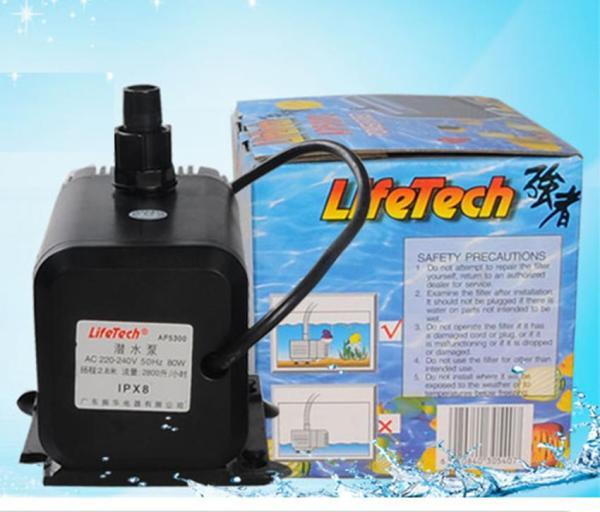 Máy bơm bể Lifetech AP5300 dùng máy bơm bể cá cảnh, trồng thủy canh, hệ thống aquaponics