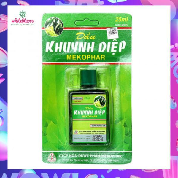 Dầu khuynh diệp Mekophar 25ml nhập khẩu
