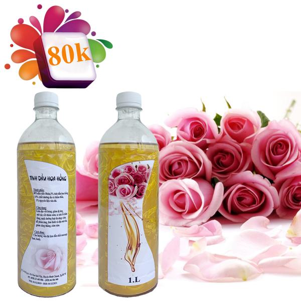 Dầu Massage body - Hương Hoa Hồng (1000ml)