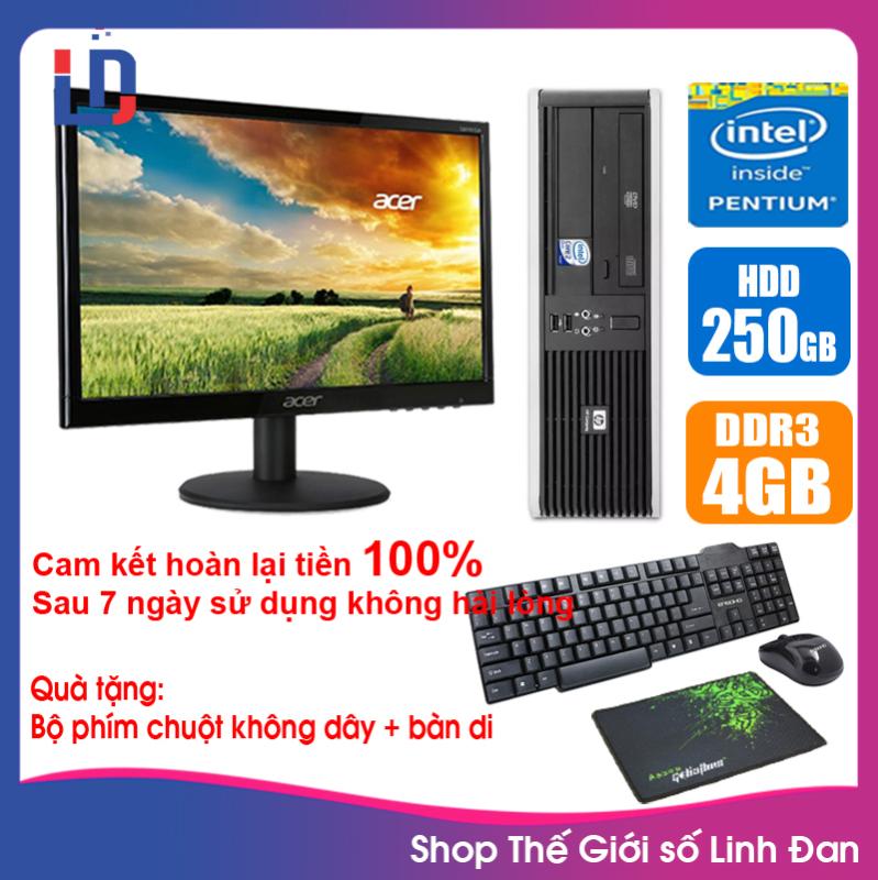 Bảng giá [Trả góp 0%]Bộ case máy tính HP CPU Dual core E5xxx/i5-3330 / RAM 4GB / HDD 250GB-500GB / SSD 120GB-240GB + Màn hình + [QUÀ TẶNG] HPI53 + M - LLD Phong Vũ