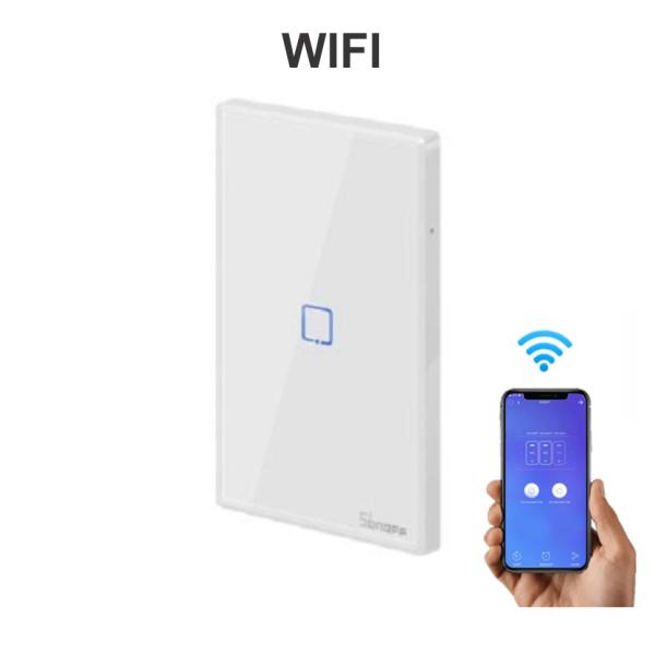 Công Tắc Wifi hẹn giờ điều khiển từ xa Thông Minh Sonoff TX T2 T0 US Cao Cấp - WIFI / WIFI + RF433 - Bảo hành 1 đổi 1 - New version 2020