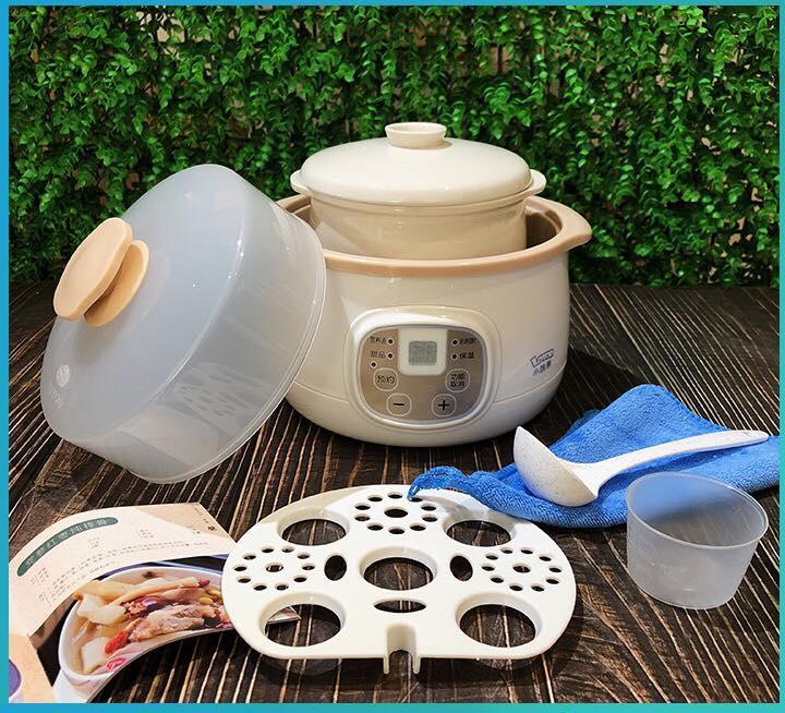 Nồi Nấu Cháo Cho Bé, Ninh Hầm Lotor ® 0.8L - Nấu Cháo, Ninh Hầm, Nấu Chè, Chưng Yến...