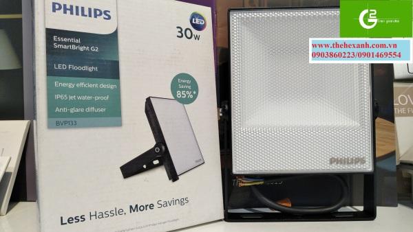 Đèn pha Led chống nước chuẩn IP65 Philips BVP133 30W WB (Sáng Vàng)