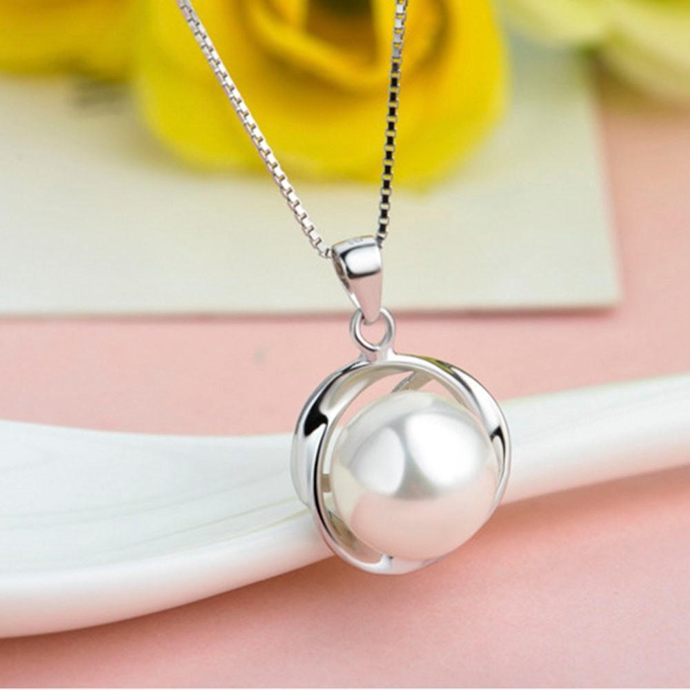 Dây chuyền nữ quà tặng biển xanh cho crush Gift of Ocean S925 tinh tế dây chuyền bạc Ý trang sức nữ vòng cổ nữ GUMI-DC5