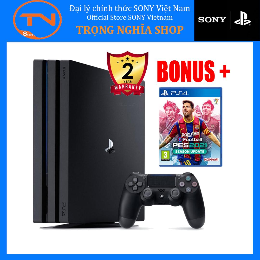 [TRẢ GÓP 0%] Máy PS4 Pro 7218B 1TB Sony [Bảo Hành 2 Năm] + Pes 2021 - Hàng Phân Phối Chính Thức