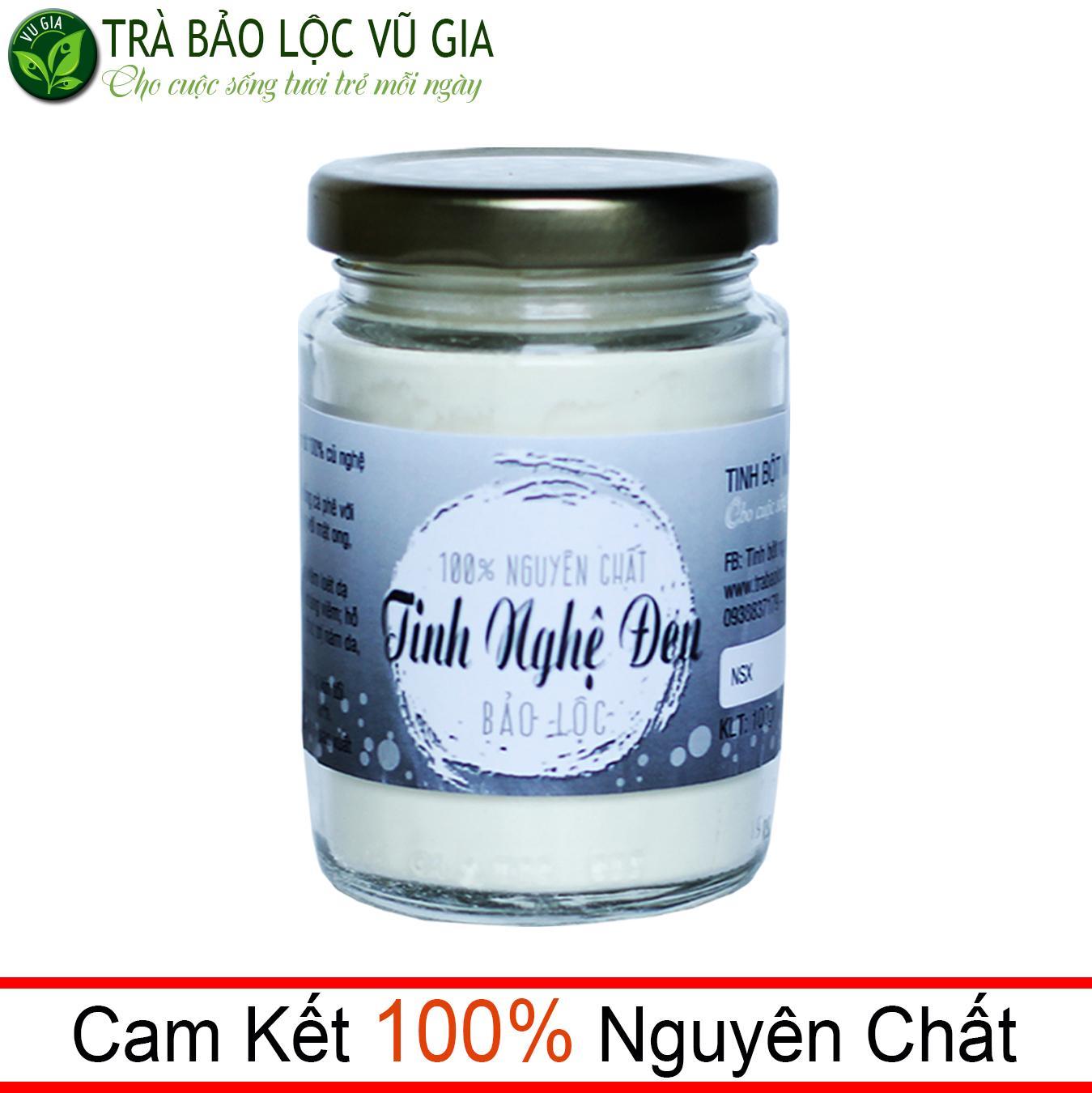 Tinh Nghệ Đen Nguyên Chất Bảo Lộc VG  (100gr/hũ) nhập khẩu